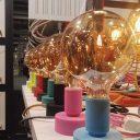 stilemisto-il filotto-tavolotto-10 colori-silicone-lampade-made in italy