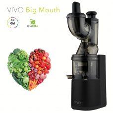 estrattore-di-succo-vivo-vivo-big-mouth-slow-juicer-nero